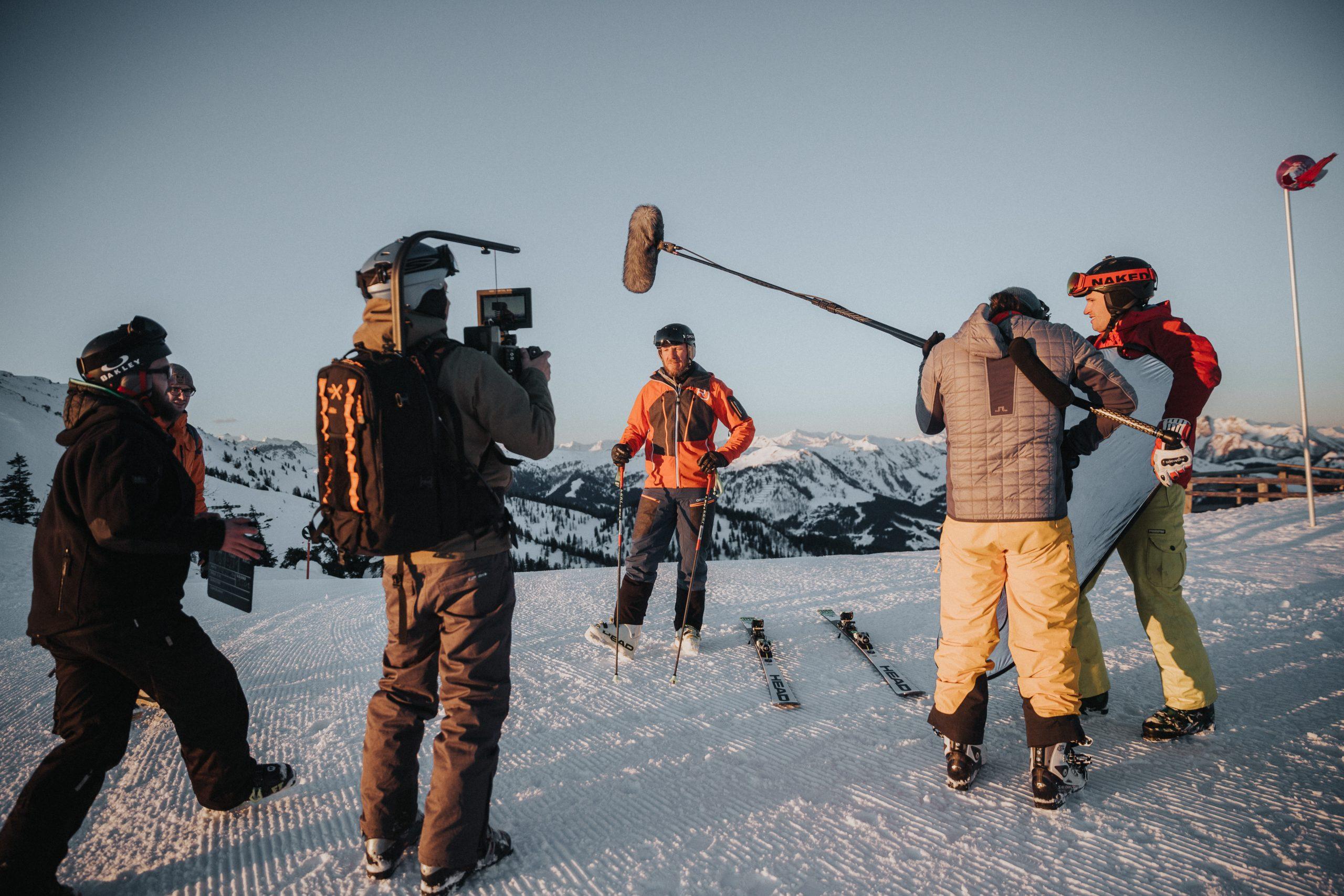 Behind-the-scenes Flachau 1